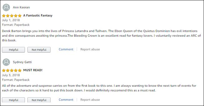 BC Amazon Reviews
