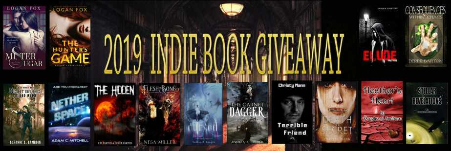 2019 Indie Book Giveaway Ad
