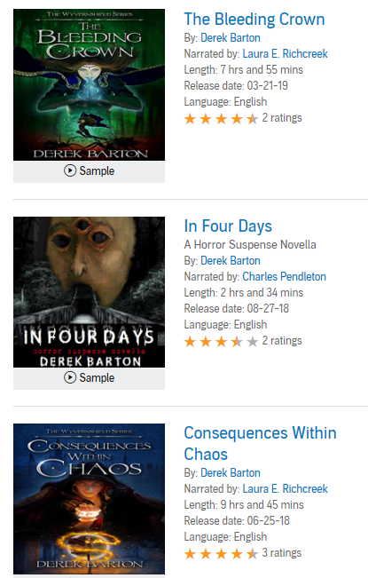 Audible Collection #2